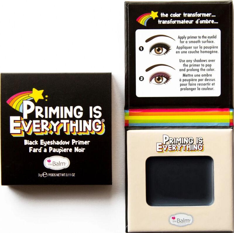 THE BALM - PRIMING IS EVERYTHING - Black Eyeshadow Primer - Baza pod cienie do powiek - Czarna