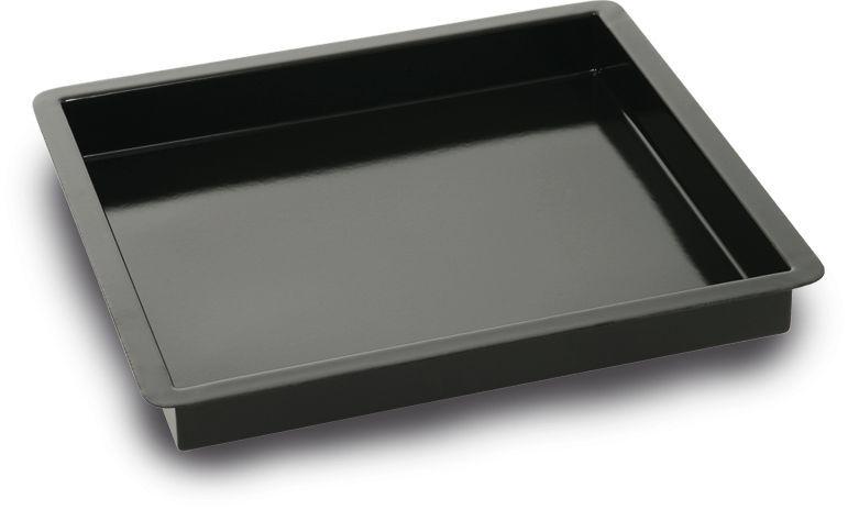 Pojemnik GN 2/3 emaliowany cukierniczy 352x325x(H)40mm