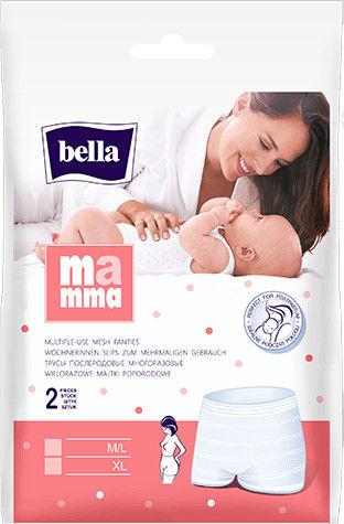 Bella Mamma Majtki poporodowe rozmiar M/L 2szt