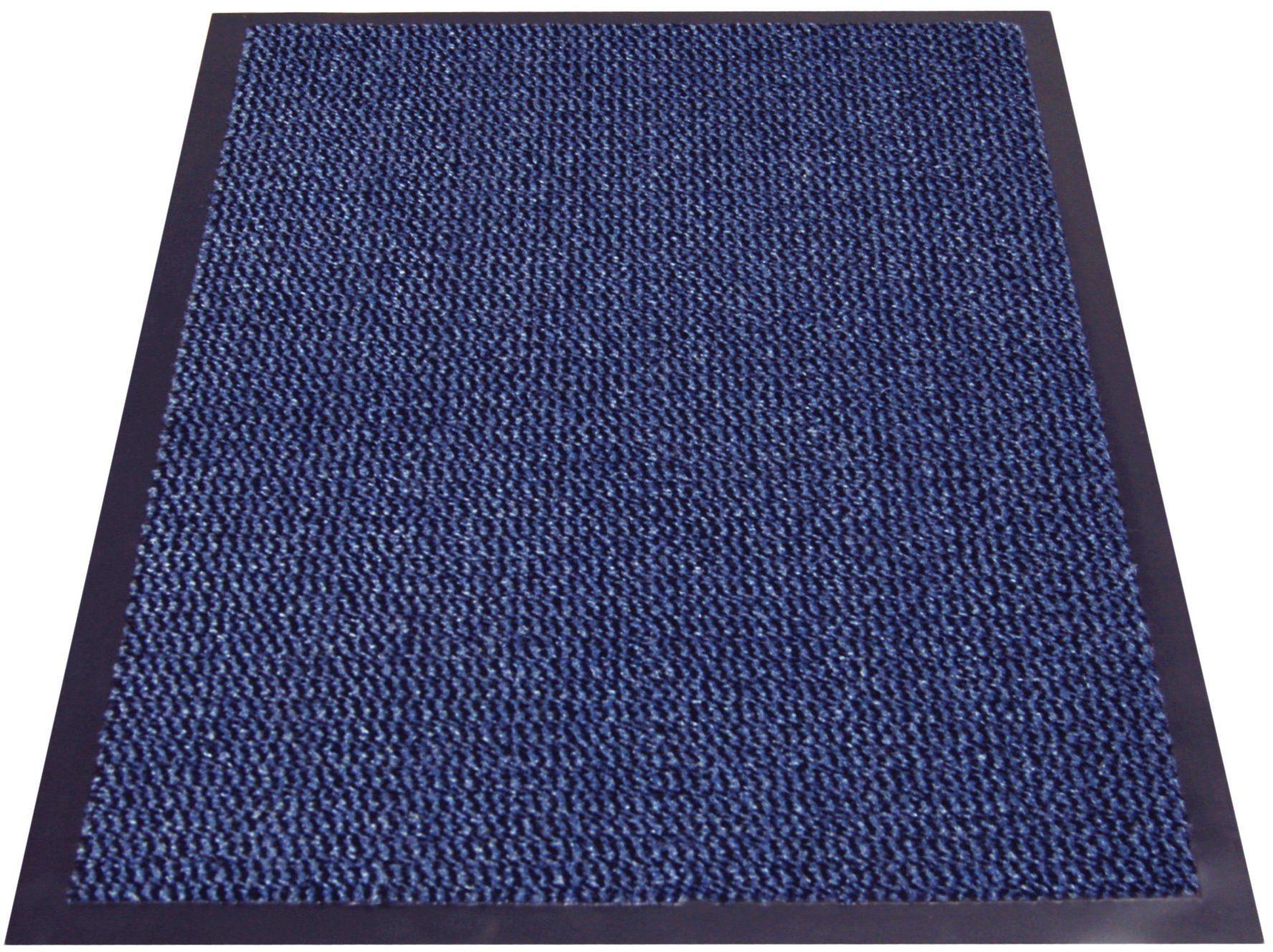 miltex Wycieraczka zatrzymująca brud, niebieska, 60 x 90 cm