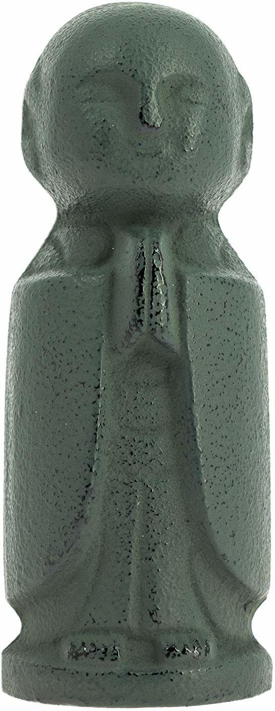 Iwachu Jizo obciążnik do listów, żeliwo, zielony, 3,8 cm x 10 cm
