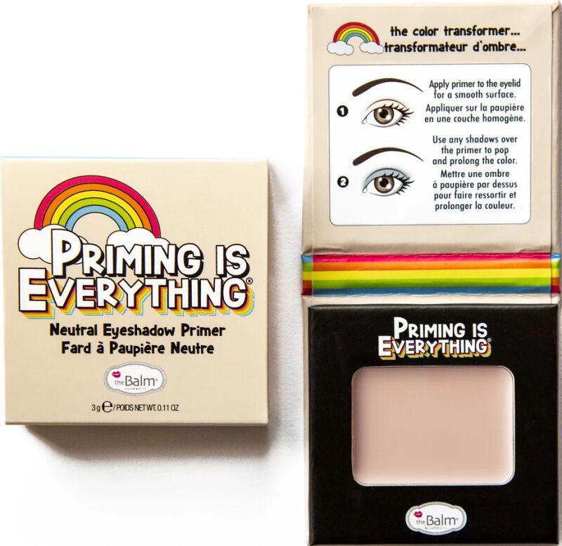 THE BALM - PRIMING IS EVERYTHING - Neutral Eyeshadow Primer - Baza pod cienie do powiek - Neutralny