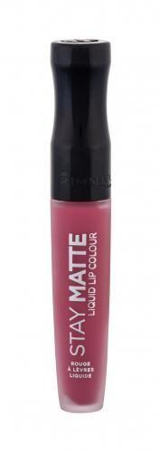Rimmel London Stay Matte pomadka 5,5 ml dla kobiet 210 Rose & Shine