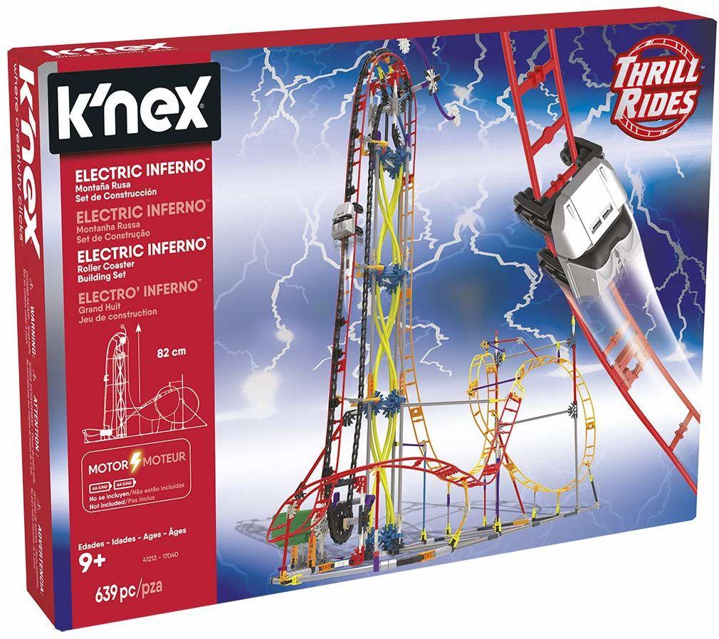 K''nex Cars Thrill Rides, Berg, Russische Electric Inferno, 639 części, od 9 lat (Ref. 41213)