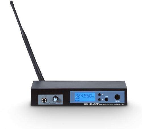 LD Systems MEI 100 G2 T nadajnik do dousznego systemu monitorowania LDMEI100G2