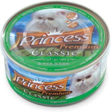Princess Premium Kurczak, Tuńczyk, Warzywa 170g