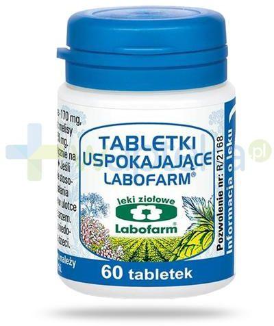 Labofarm tabletki uspokajające 60 tabletek