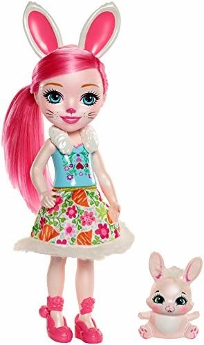 Enchantimals - Duża lalka Bree Bunny & Twist FRH52 FRH51
