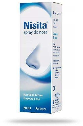 Nisita spray do nosa 20 ml