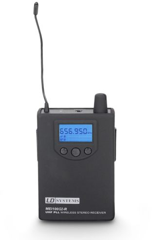 LD Systems MEI 100 G2 BPR B6 odbiornik do dousznego systemu monitorowania LDMEI100G2