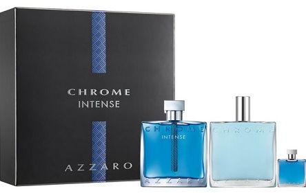 Azzaro Chrome Intense balsam po goleniu 100ml + miniaturka 5ml + woda toaletowa - 100ml Do każdego zamówienia upominek gratis.