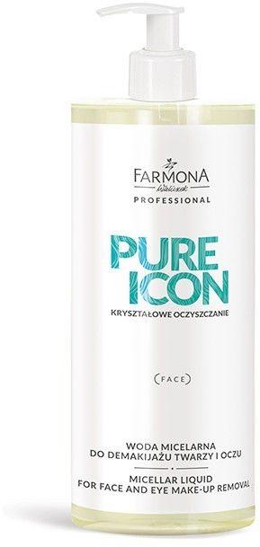 Farmona PURE ICON Woda micelarna do demakijażu twarzy i oczu - 500 ml