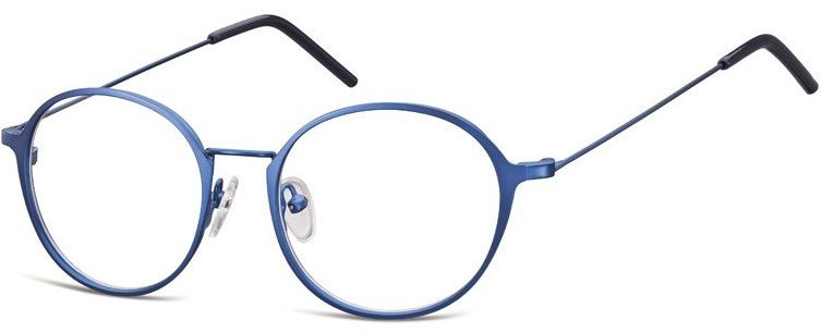 Lenonki zerowki Oprawki okulary korekcyjne 971D niebieskie
