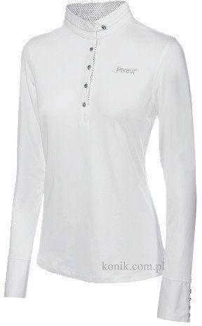 Koszula konkursowa Pikeur długi rękaw - white