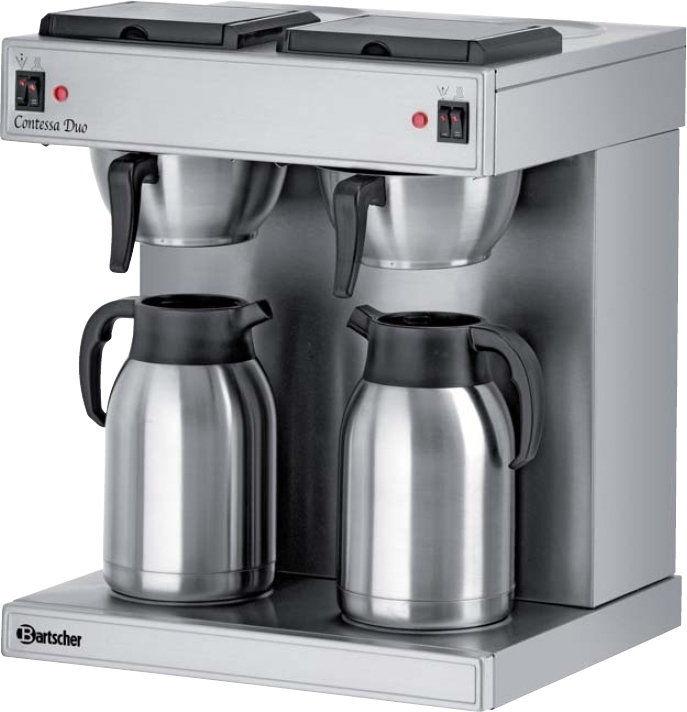 Ekspres do kawy przelewowy 2x2L Bartscher 190049