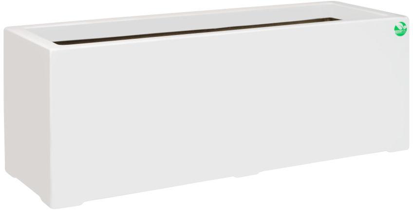 Donica z włókna szklanego D972B biały połysk