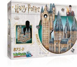 Wrebbit 3D Puzzle HOGWAS Harry Potter Hogwart wieża astronomia puzzle (875 sztuk)