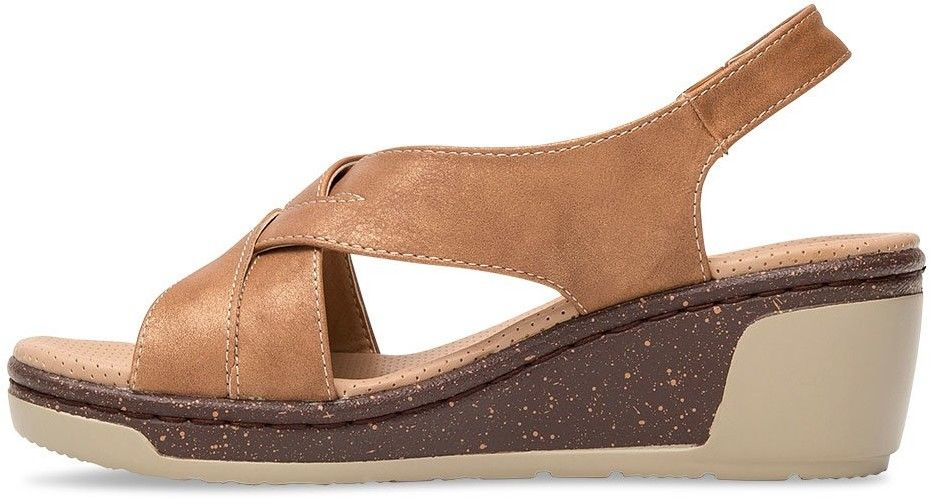 Sandałki damskie Skotnicki S-3-6030 Brązowe