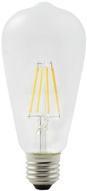 Żarówka LED Diall ST64 E27 4,5 W 470 lm przezroczysta barwa ciepła