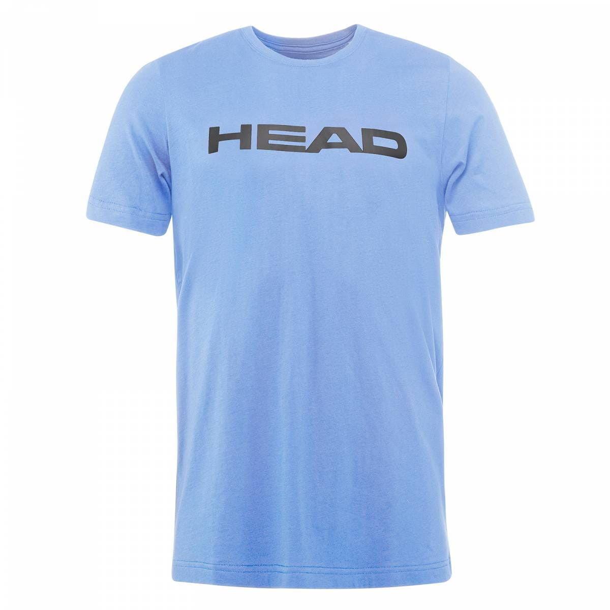 Head Ivan T-Shirt Jr - sky blue/anthracite