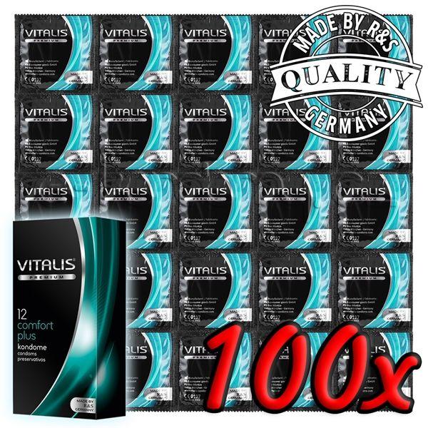 Vitalis Premium Comfort Plus 100 pack