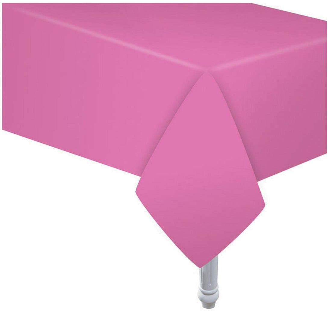 Obrus papierowy różowy - 132 x 183 cm - 1 szt.