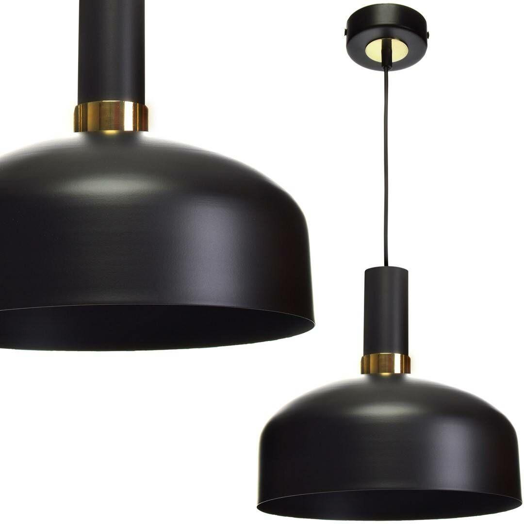Lampa wisząca MALMO BLACK/GOLD 1xE27