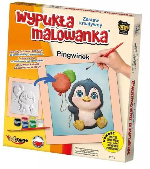 Wypukła Malowanka - Mały Pingwinek - Mirage Hobby
