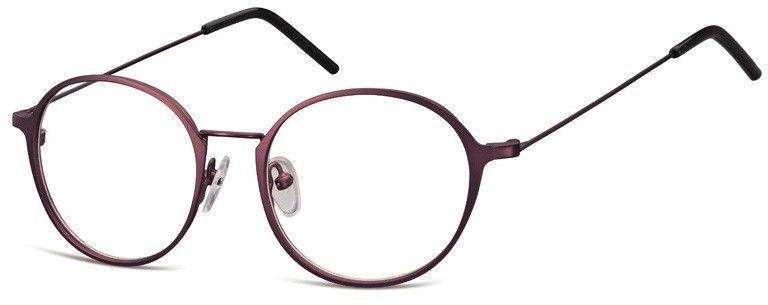 Lenonki zerowki Oprawki okulary korekcyjne 971G fioletowe