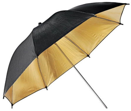 Godox UB-003 Black-Gold Umbrella - modyfikator światła, parasolka czarno-złota 84cm (33'') Godox UB-003 Black-Gold Umbrella