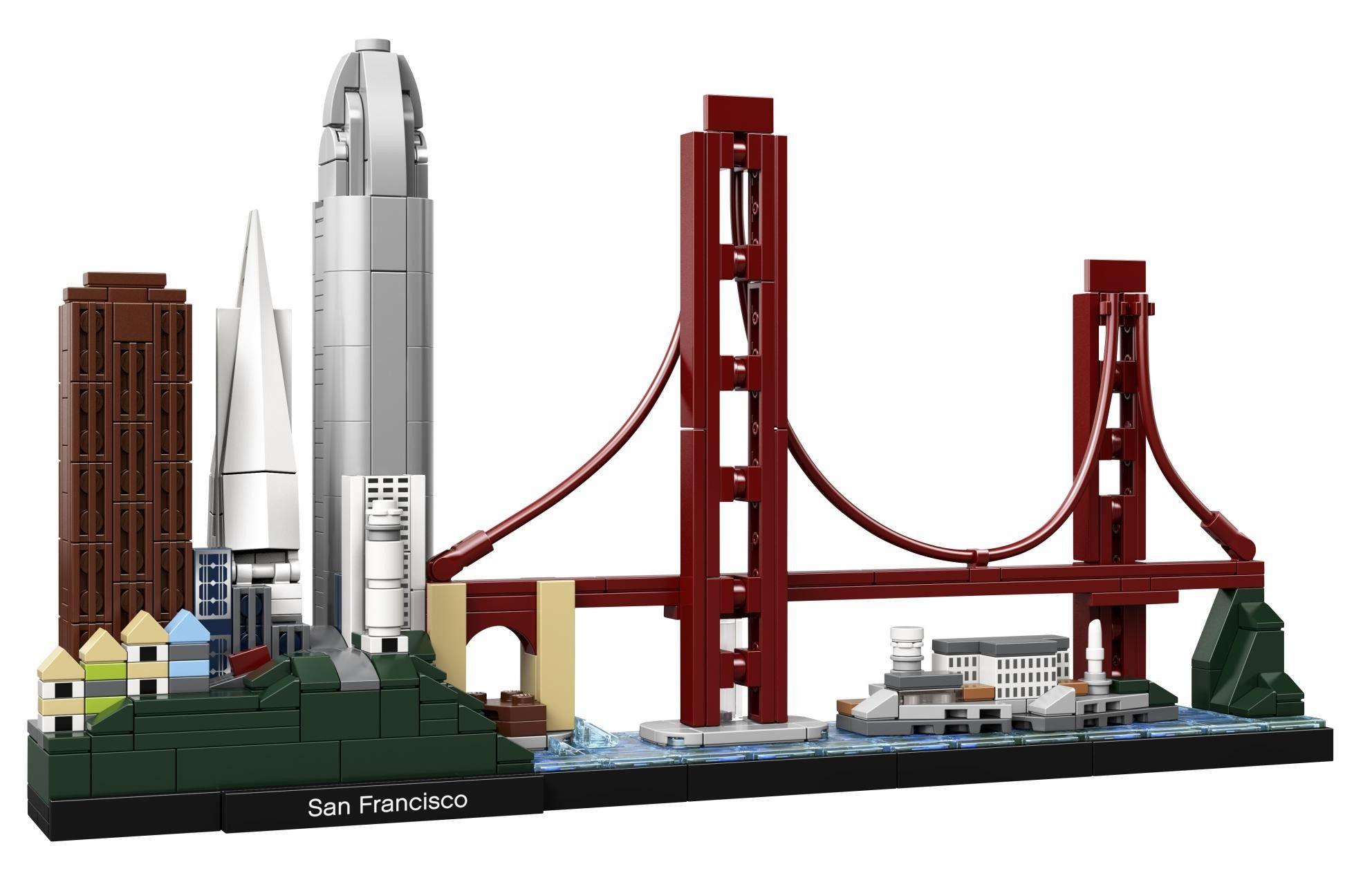 LEGO Architecture 21043 San Francisco