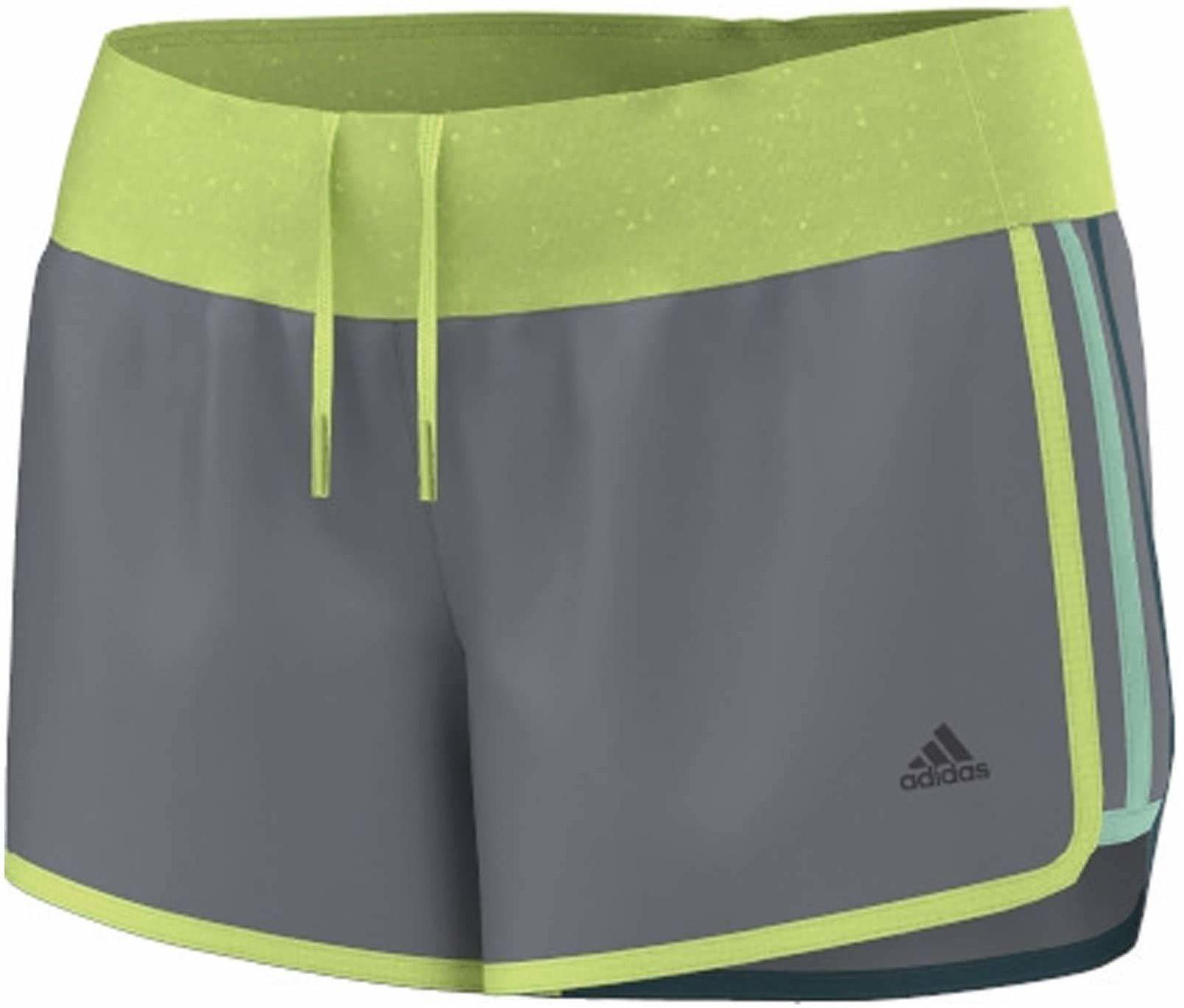 adidas damska sukienka na nogę Aktiv Marathon 10 szorty damskie, szara, XL