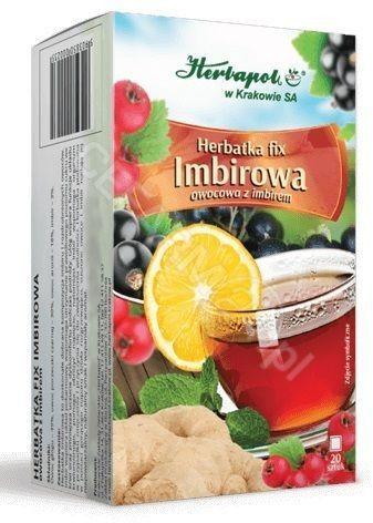 Herbapol Herbatka imbirowa, 20 saszetek