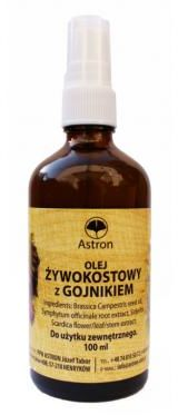 Olej Żywokostowy z gojnikiem 100 ml Astron
