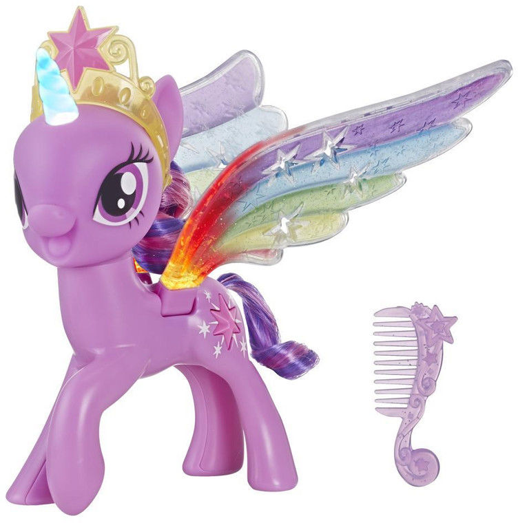 Hasbro My Little Pony - Twilight Sparkle Tęczowe skrzydła E2928