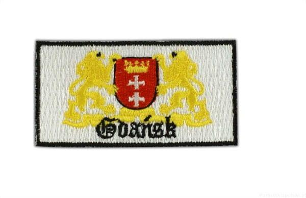 Naszywka herb Gdańska
