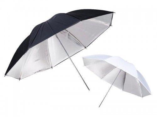 Parasolka srebrna odbijająca 120 cm