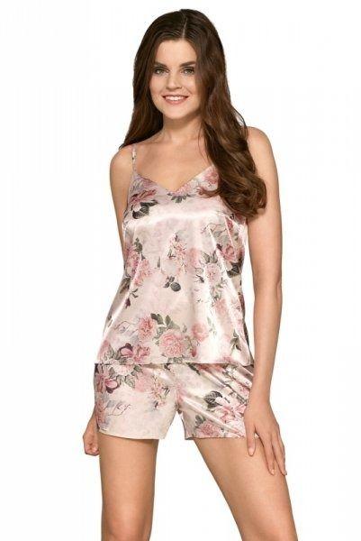 Piżama damska babella mirella różowa