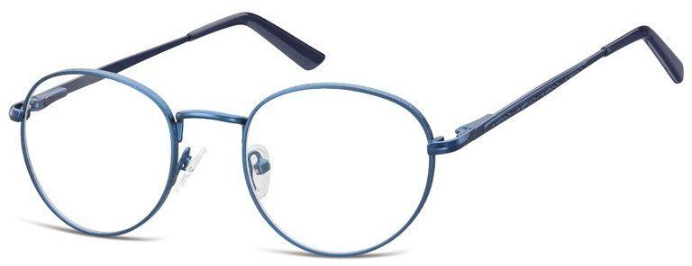 Lenonki zerowki Oprawki okulary korekcyjne 976A niebieskie