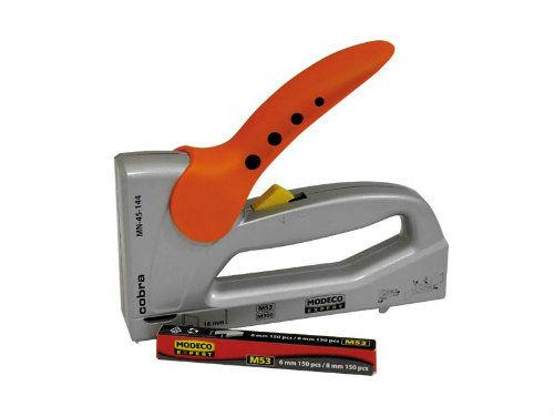 Zszywacz ręczny aluminiowy 6-16mm COBRA MODECO MN-45-144