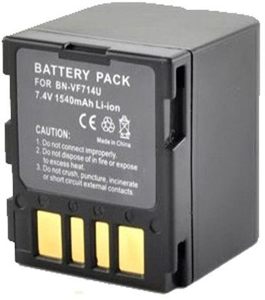 Amsahr Digital Replacement Camera and Camcorder Battery for JVC BN-VF714
