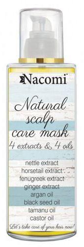 Maska do skóry głowy ograniczająca wypadanie włosów Nacomi - 50 ml