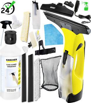 WV 5 Premium Versatility (105m2, 35min) myjka do okien Karcher MEGA ZESTAW DETERGENT XL+ AUTORYZOWANY PARTNER KARCHER KARTA 0ZŁ POBRANIE 0ZŁ ZWROT 30DNI RATY GWARANCJA D2D WEJDŹ I KUP NAJTANIEJ