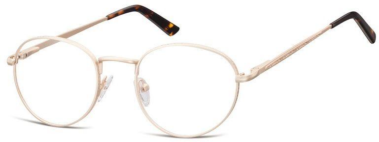 Lenonki zerowki Oprawki okulary korekcyjne 976C złote
