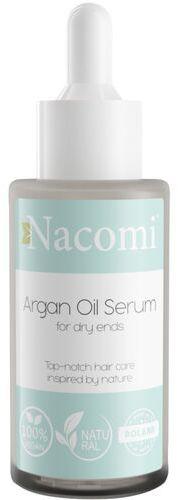 Serum na końcówki włosów z olejkiem arganowym Nacomi - 40 ml