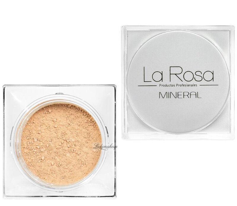 La Rosa - Mineralny podkład w pudrze - 51 LIGHT IVORY