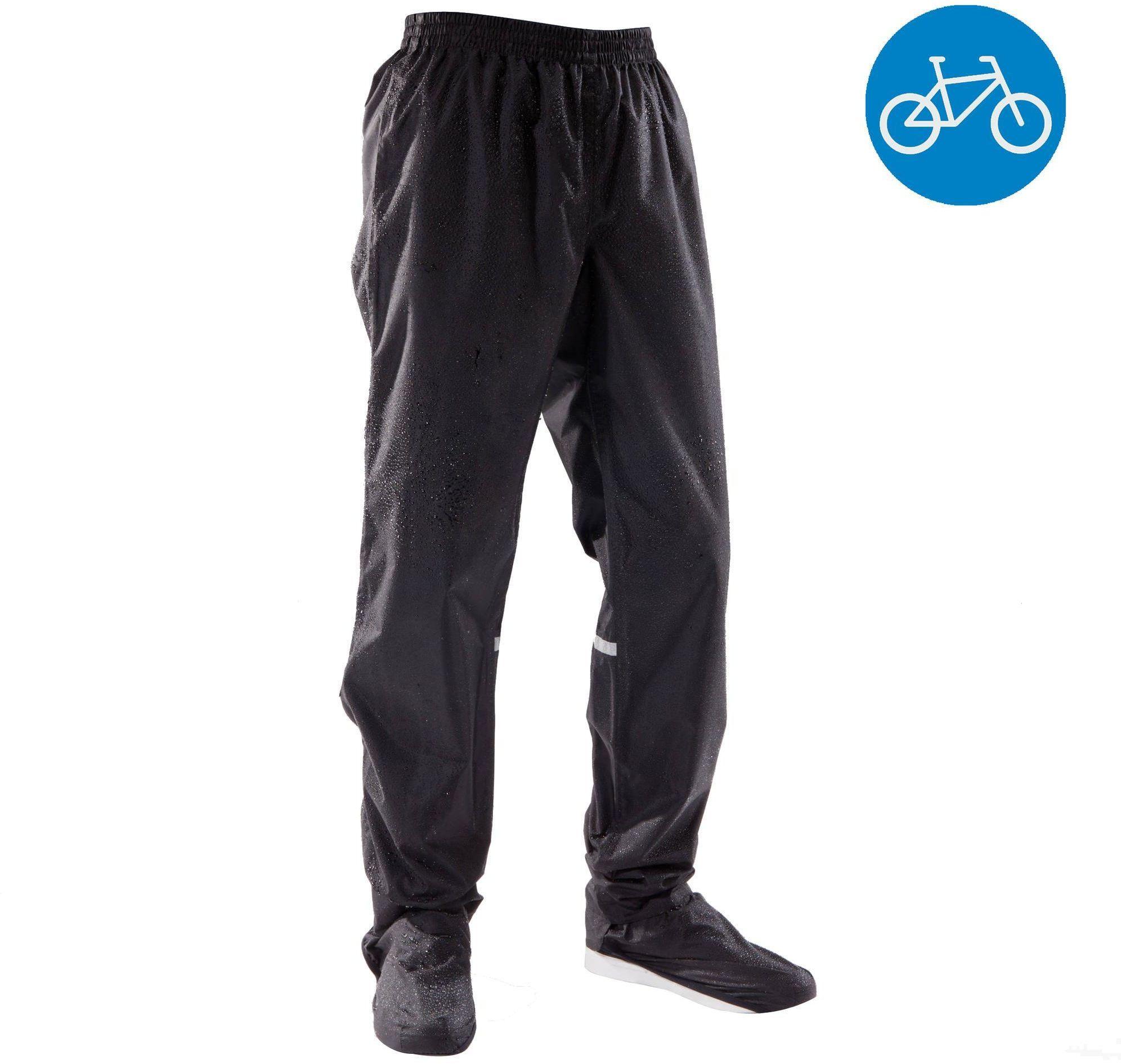 Ochraniacze Przeciwdeszczowe Spodni Na Rower Miejski 100