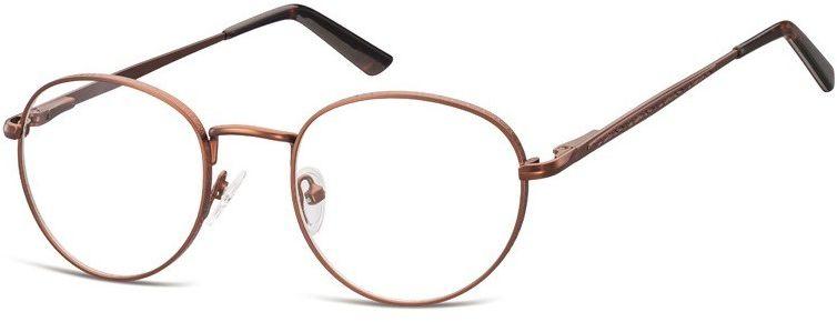 Lenonki zerowki Oprawki okulary korekcyjne 976D brazowe
