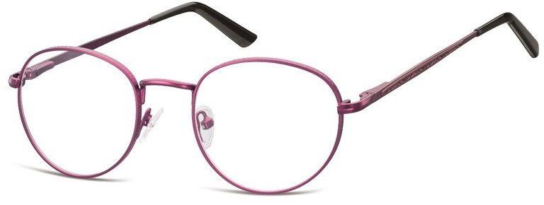 Lenonki zerowki Oprawki okulary korekcyjne 976E fioletowe