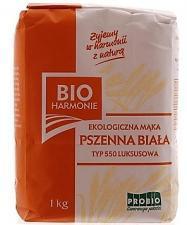 Mąka pszenna biała typ 550 BIO 1kg Bio Harmonie